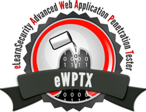 EWPTX Certificate Sm