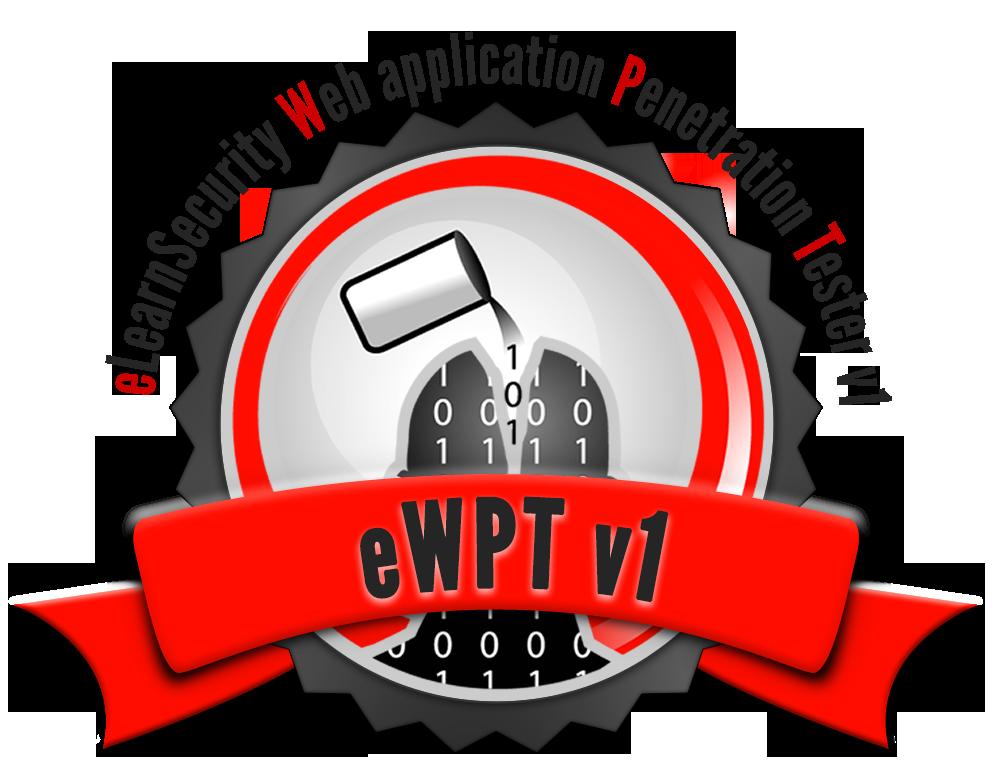 EWPT V1 Certificate